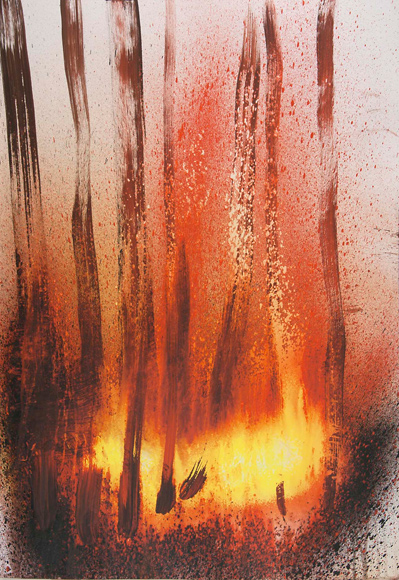 Burning Forest - 2010